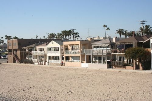 Seal Beach Houses On The I Miss Walking Dogs Along Here