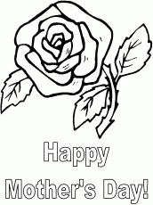 free printable mothers day coloring pages   Coloring Pages for Kids ...