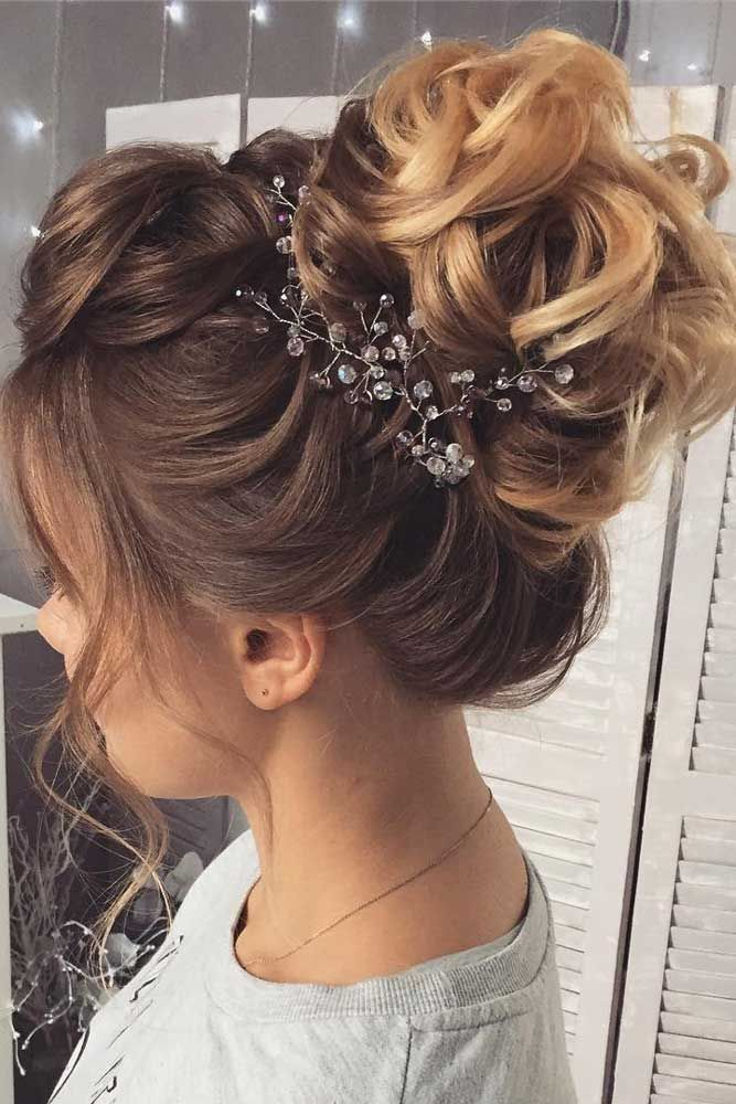 medium hair formal styles 51 sophisticated prom hair updos wedding 3330