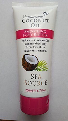 coconut oil foot cream