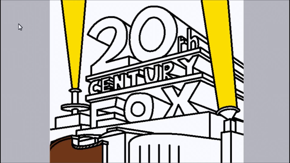 20th Century Fox Logo Speedpaint Or Timelapse Whatever You Want To Call It Youtube Fox Logo Famous Logos 20th Century Fox