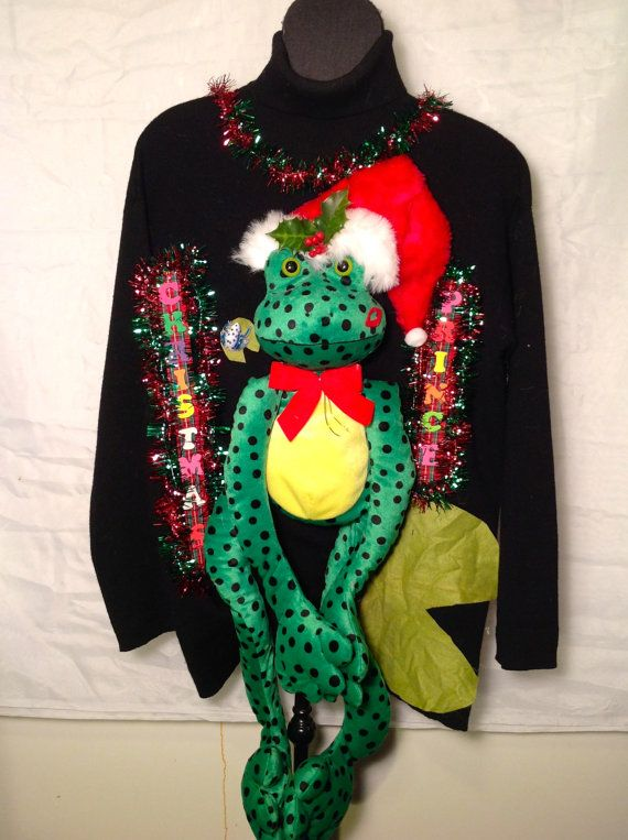 Wrap the XL Frogs Arms and Legs around others and Get Some Unforgettable Pictures!! Christmas Prince Looking for a Christmas Kiss!