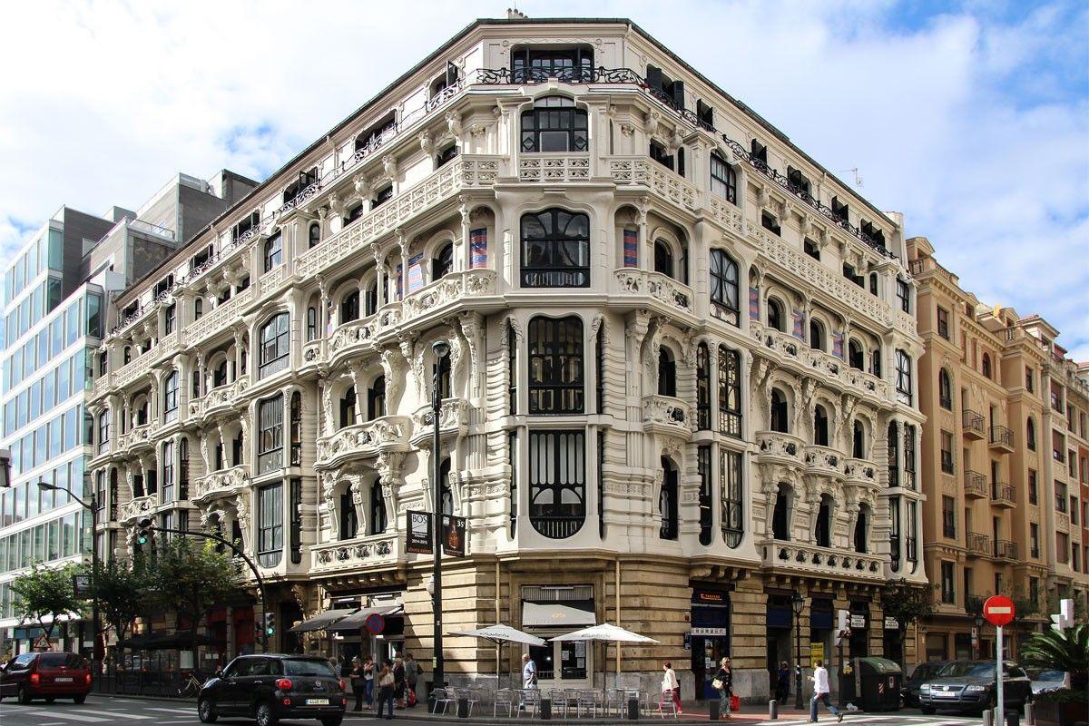 Casa montero arquitectura bilbao antig edades bilbao pa s vasco y - Arquitectura pais vasco ...