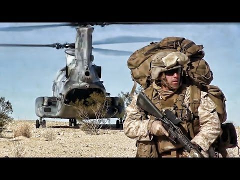 airfield seizure exercise marines ch 46 helicopter raid youtube
