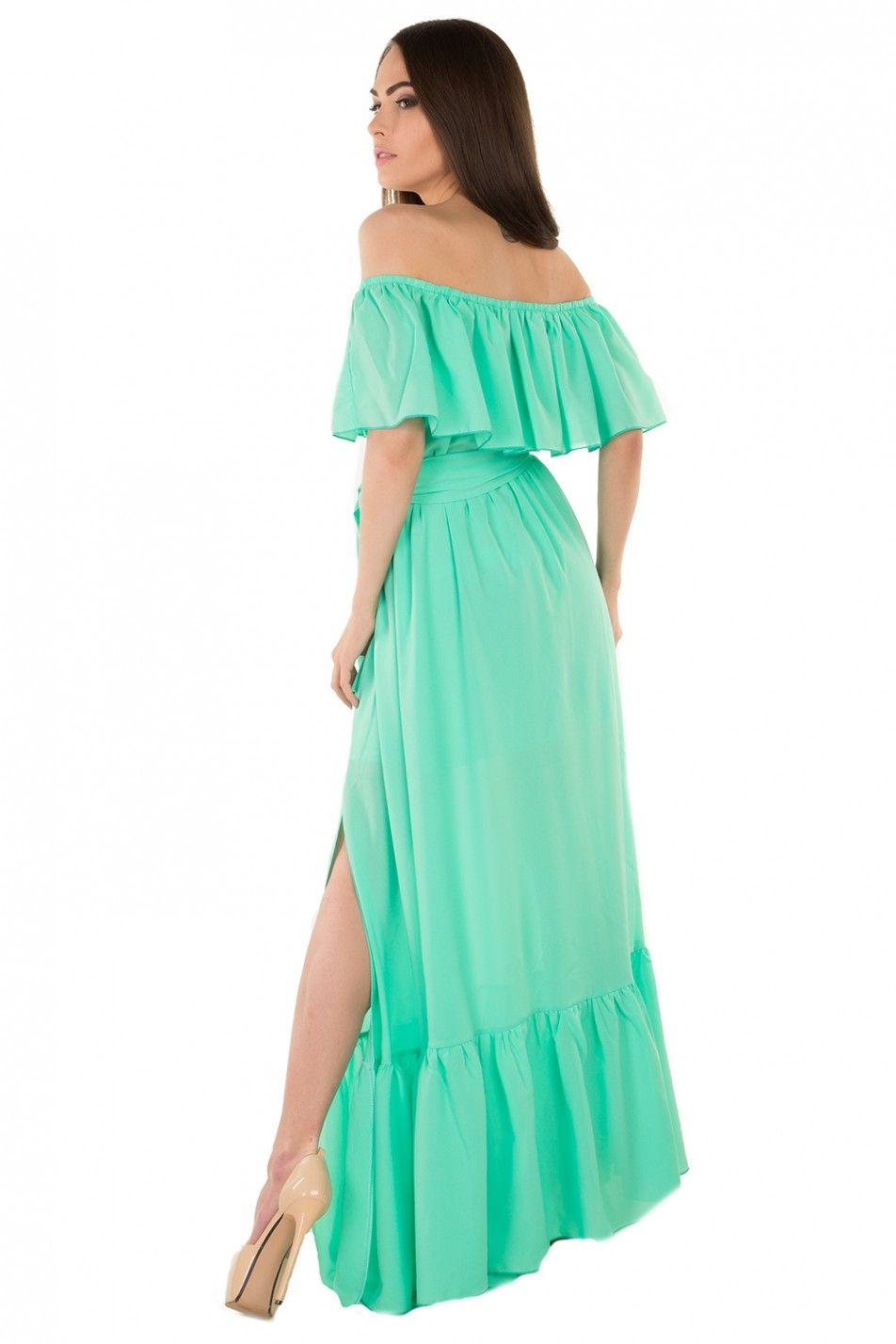 Как сшить платье с волнами