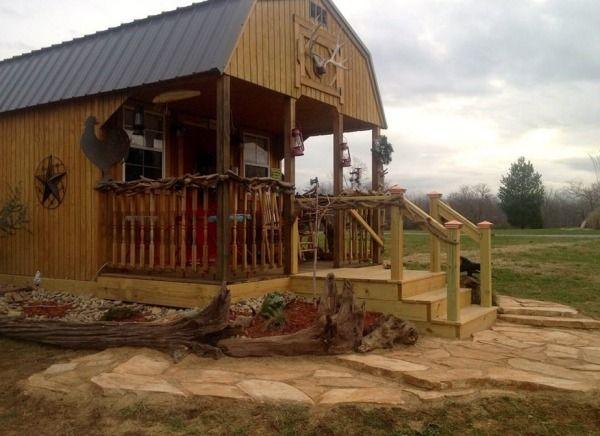 300 Sq Ft Barn To Tiny Cabin Conversion Tiny House