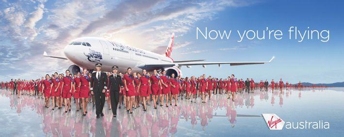 Virgin Australia 2012 Brand Campaign Airlines Branding Business Travel Virgin