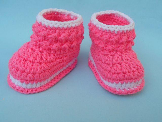 Crochet Patterns Galore - Booties | Patucos | Pinterest | Ponchos