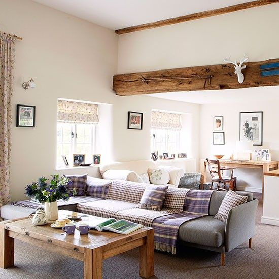 Modern Country Living Room Decor: Modern Oxfordshire Country House