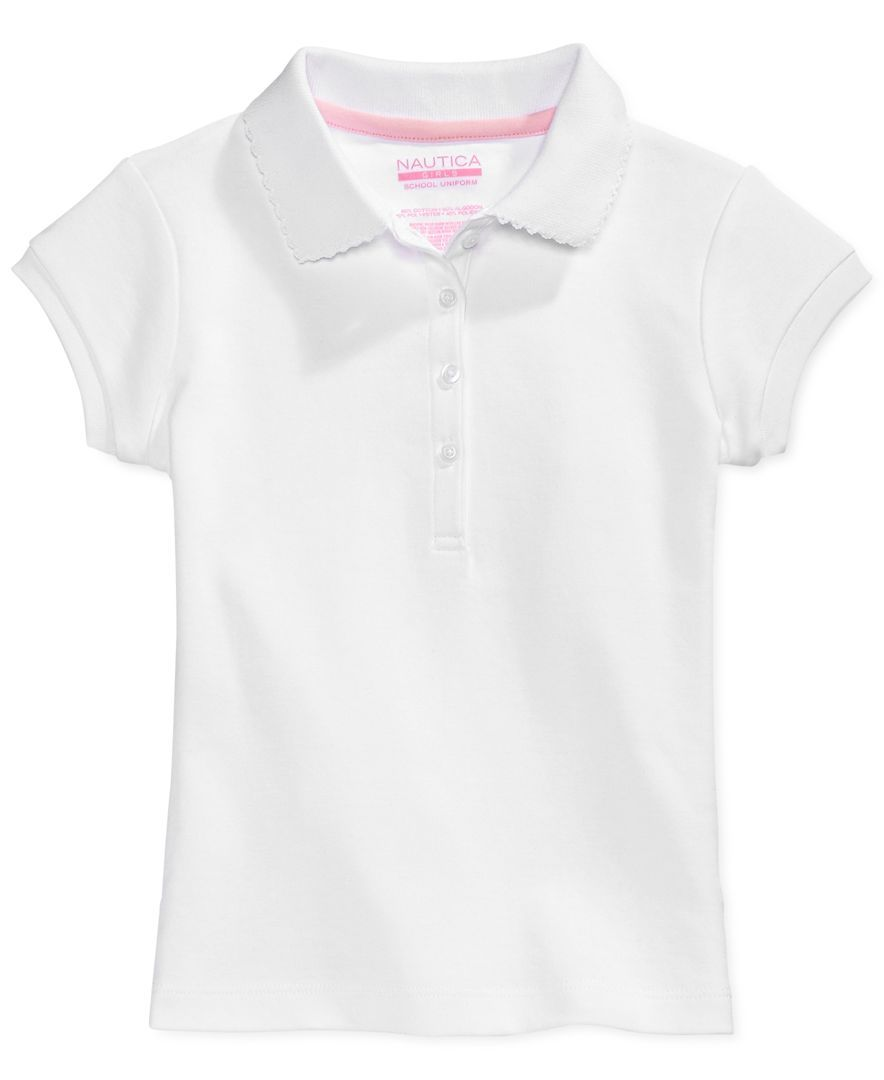 School Uniform Polo Big Girls Products Pinterest Toddler