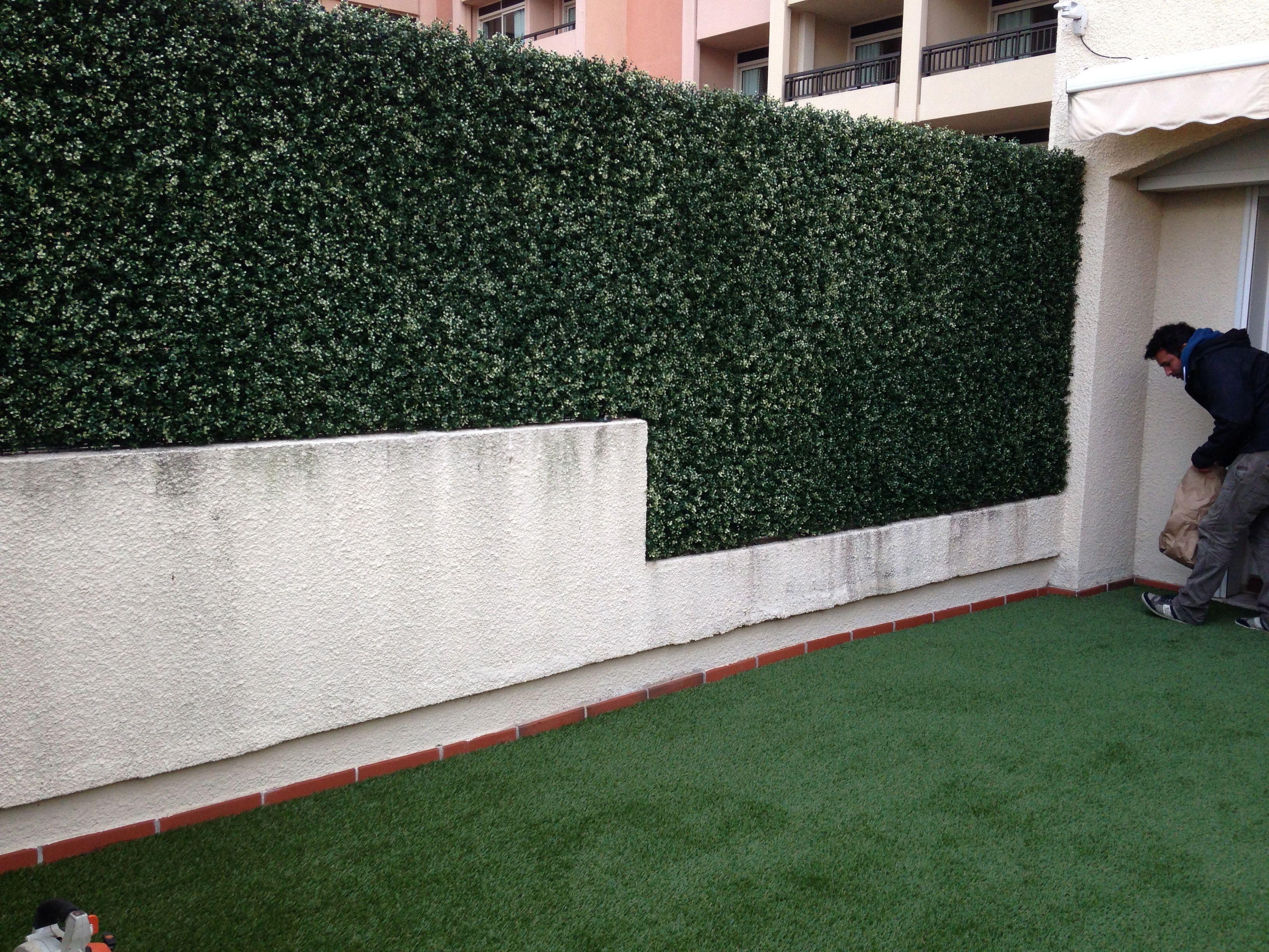 Brise Vue Terrasse Balcon Barriere Vegetale Artificielle
