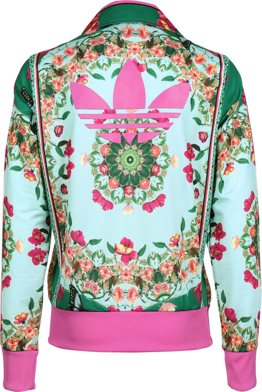 veste adidas femme fleur