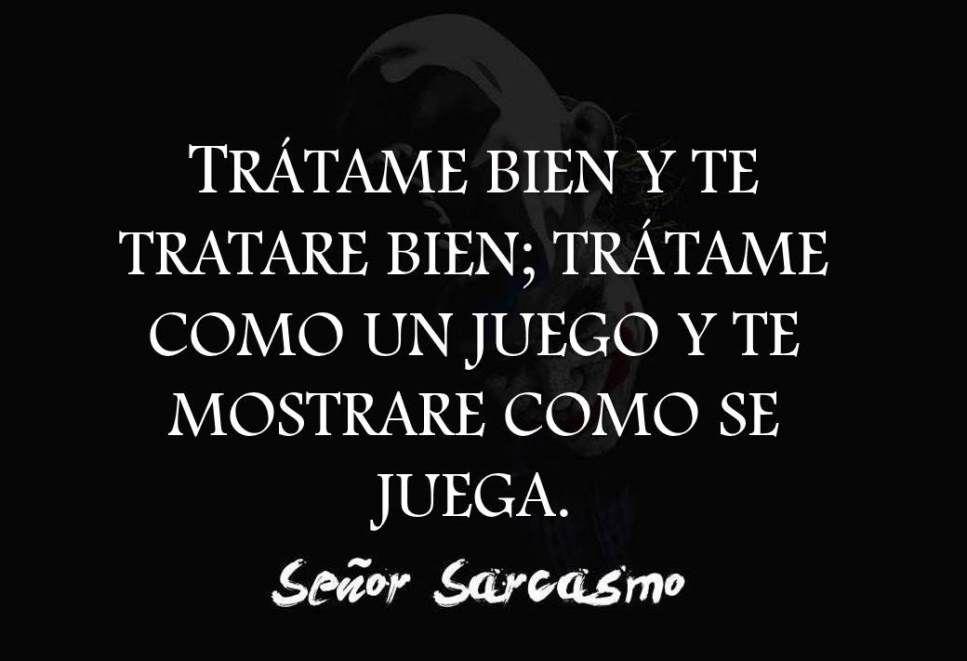 Frases De Ironia P 2: (2) Señor Sarcasmo (@EISenorSarcasmo)