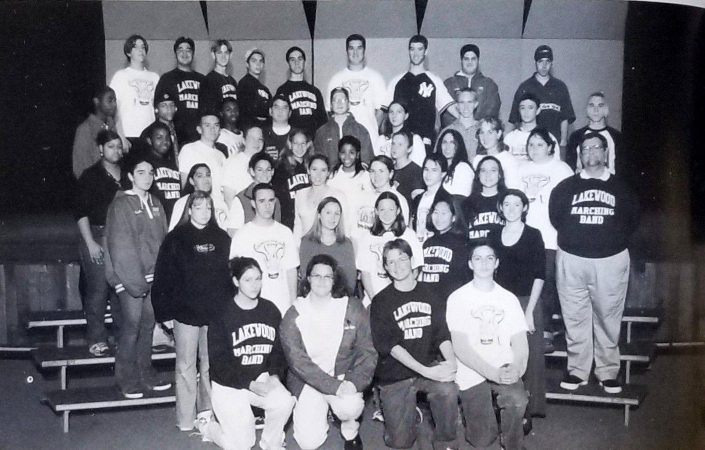 1999 lakewood marching band group photo wo caption