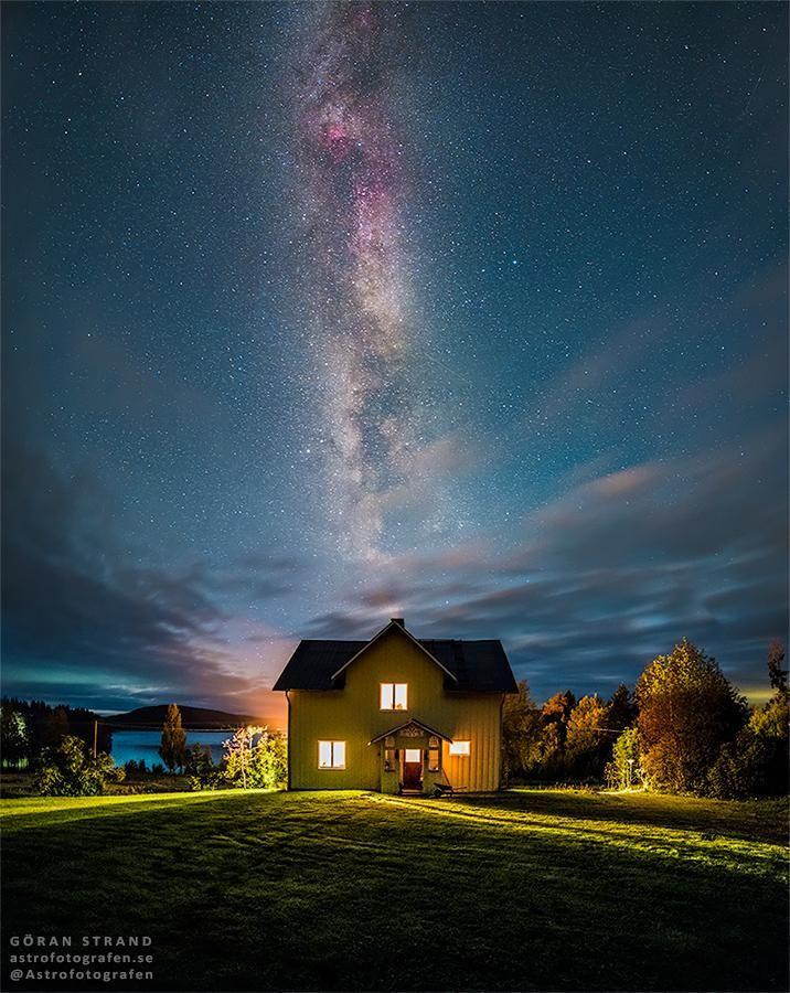 Göran Strand on Twitter Milky way, How to take photos, Photo