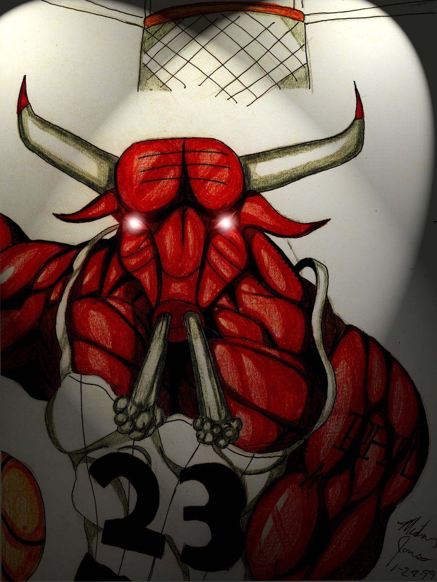 chicago bulls cartoon