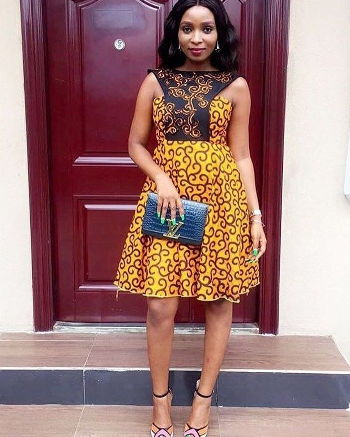 There are a variety of ways to make yourself be unique with an Asoebi style, Even if you are contemplating about what to create and slay with an Nigerian Yoruba dress styles. latest asoebi styles for parties come in many patterns and designs.   The African print styles beauty of this print is that it comes in many designs and textures. Ankara will permit you make a fall in with of any cloth without losing the African dress styles flair. #nigeriandressstyles There are a variety of ways to make yo #nigeriandressstyles