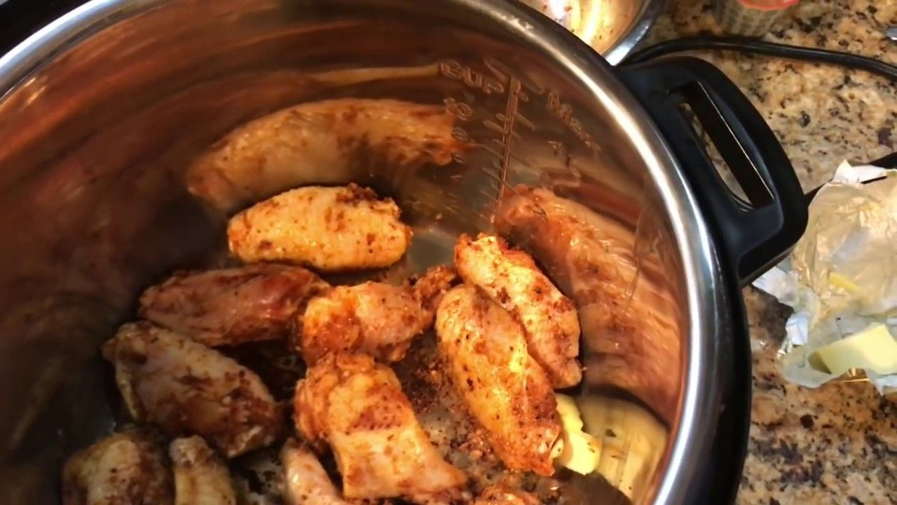Keto Chicken Wings In Instant Pot Recipe And Breville