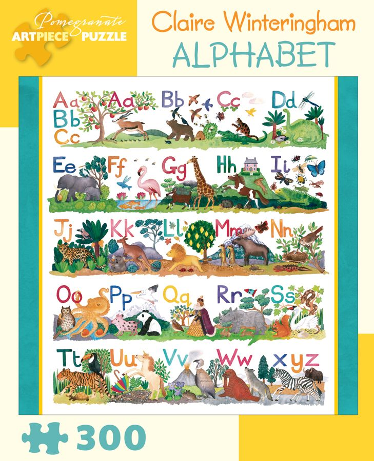Claire Winteringham Alphabet 300 Piece Jigsaw Puzzle My Precious