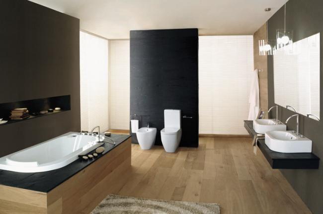 astounding calming modern minimalist bathroom white | Luxury and Elegant Bathroom Interior Designs and Some ...