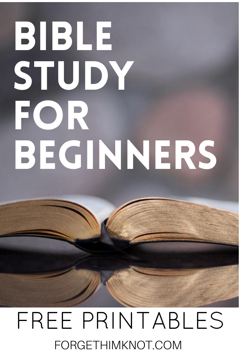 Bible Study For Beginners Plus A Free Bible Lesson Forget Him Knot Bible Studies For Beginners Bible Study Free Bible Study