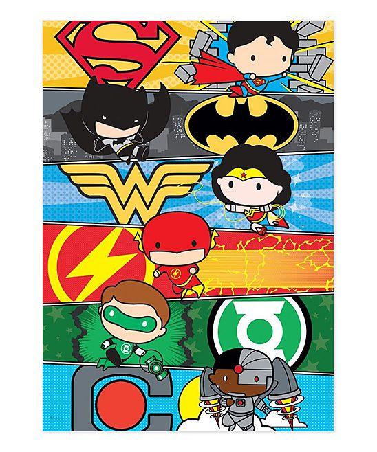 Justice League Cartoon MightyPrint Wall Art   Cmics ...