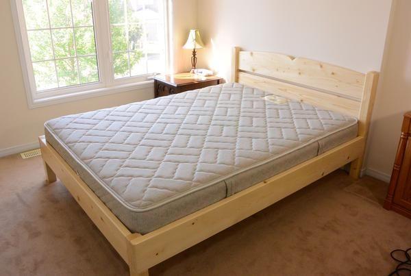 Queen Size Bed From 2x4 Lumber Bedroom Furniture Design Queen