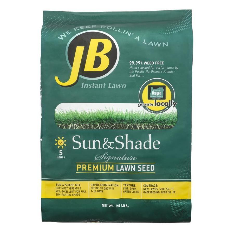 Jb Instant Lawn Jb Signature 25 Lb Perennial Ryegrass Grass Seed