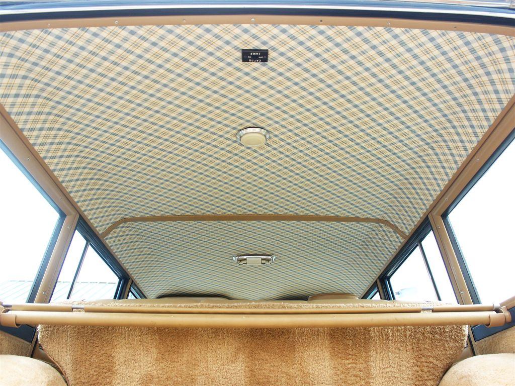 1988 jeep grand wagoneer interior headliner jeep grand jeep wagoneer custom car interior 1988 jeep grand wagoneer interior