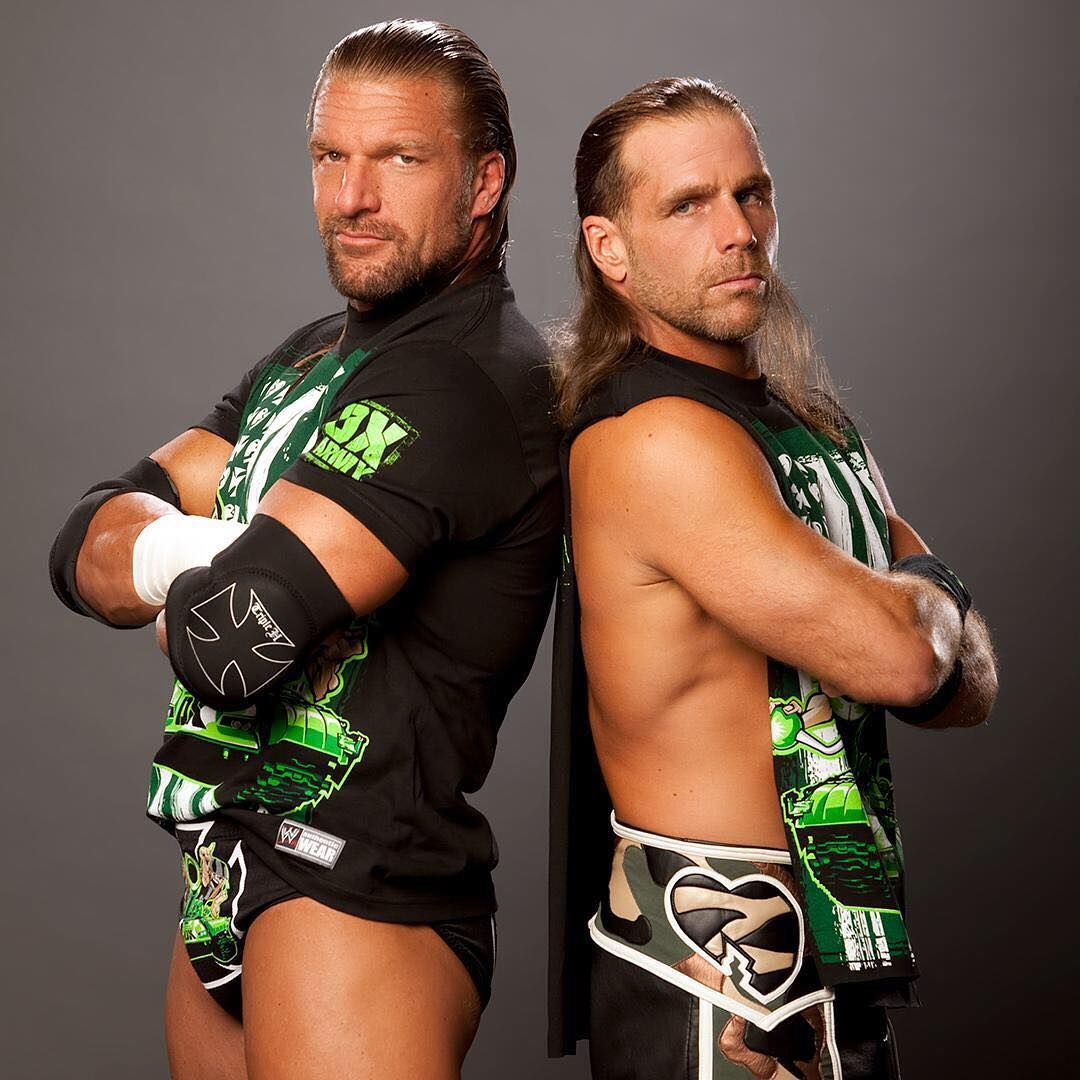The Band Is Back Together Dx Tbt With Images Wrestling