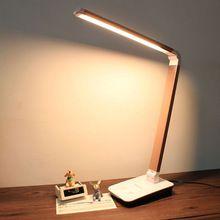 Us 34 76 4 Level Touch Dimmer Led Desk Lamps Folding Table Led Lamba Usb Portable Office Night Reading Lampara Lampe De Table Lamba Kendin Yap Mobilya Mobilya