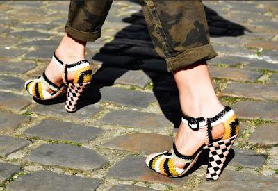 e4e3d7cd Zapatos de moda para dama bonitos | VINTAGE | Pinterest | Zapatos de ...