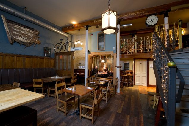The callan price project stravaigin glasgow best pub