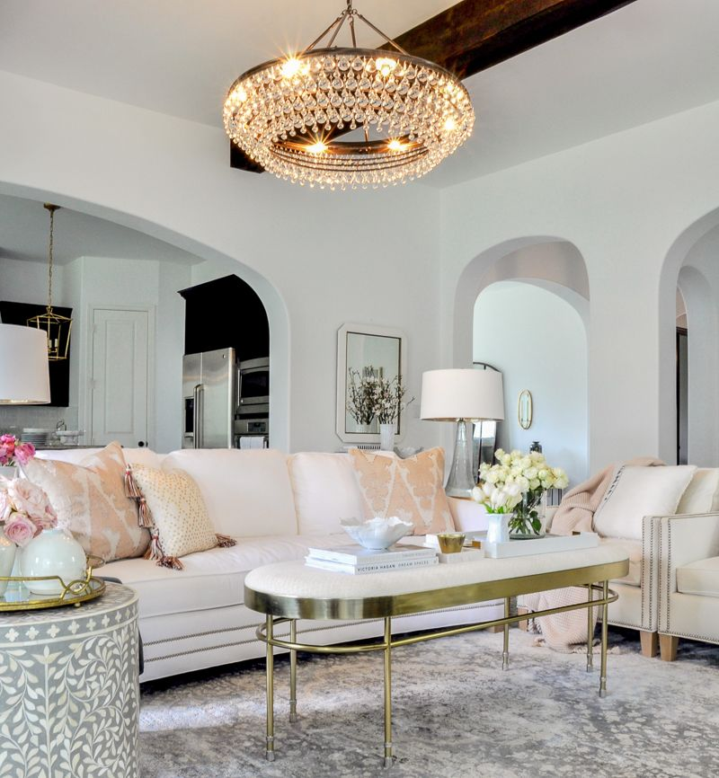 Spring Home Tour - Styled For The Season - By   Living ...