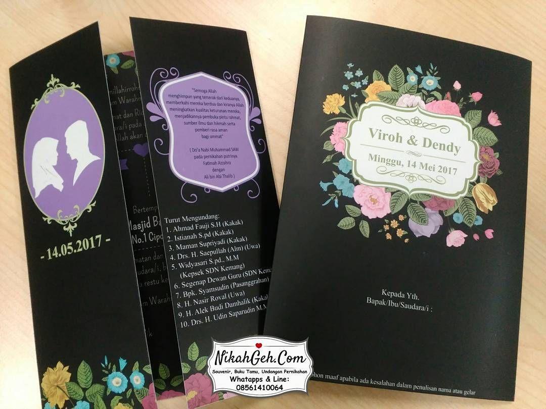 Https Nikahgeh Com Undangan Pernikahan Full Colour Laminasi Dof Bolak Balik Kertas Paling Tebal Art Carton 3 Undangan Pernikahan Pernikahan Murah Undangan
