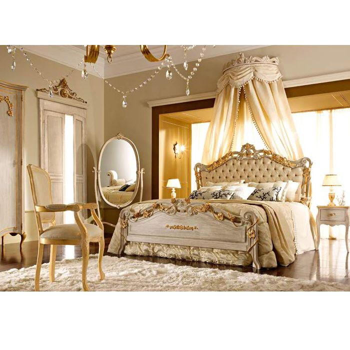 Very Royal Looking Without Being Gaudy I Loves It Bedroom Furniture Decor