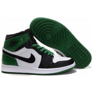 new concept cfa2c daab1 www.asneakers4u.com 332558 101 Air Jordan 1 high retro (gs) boston celtics white  black varsity green A24018