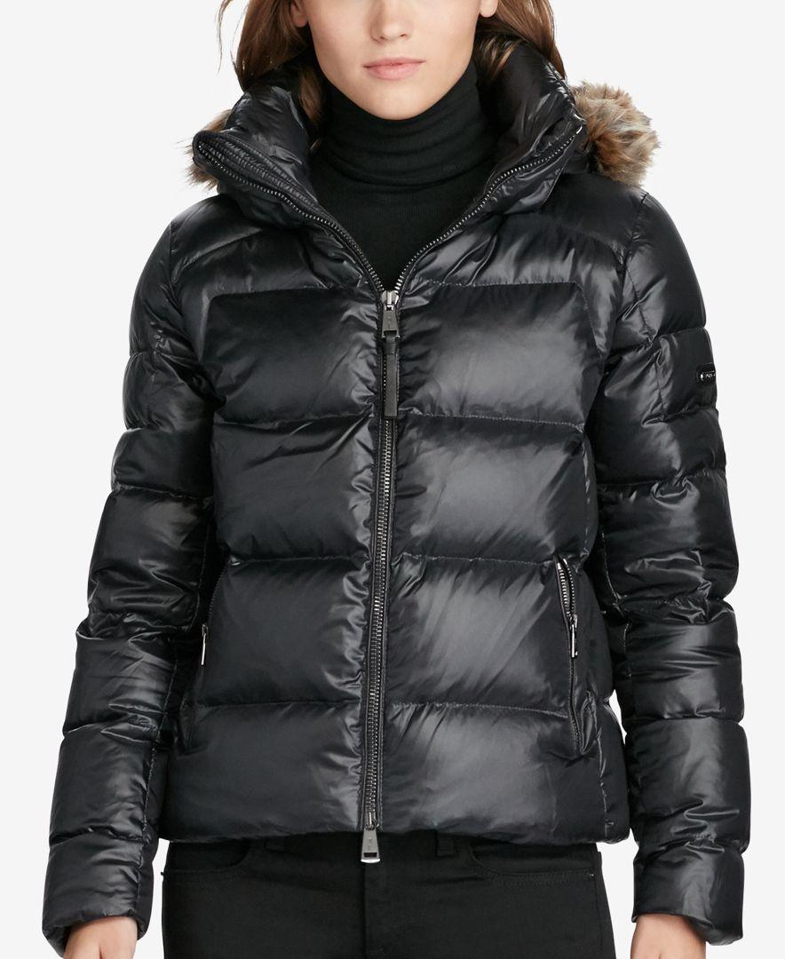 Polo Ralph Lauren Hooded Down Jacket   P in 2019   Doudoune f4085da28a5b
