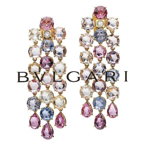 Advertising campaign for Bvlgari.