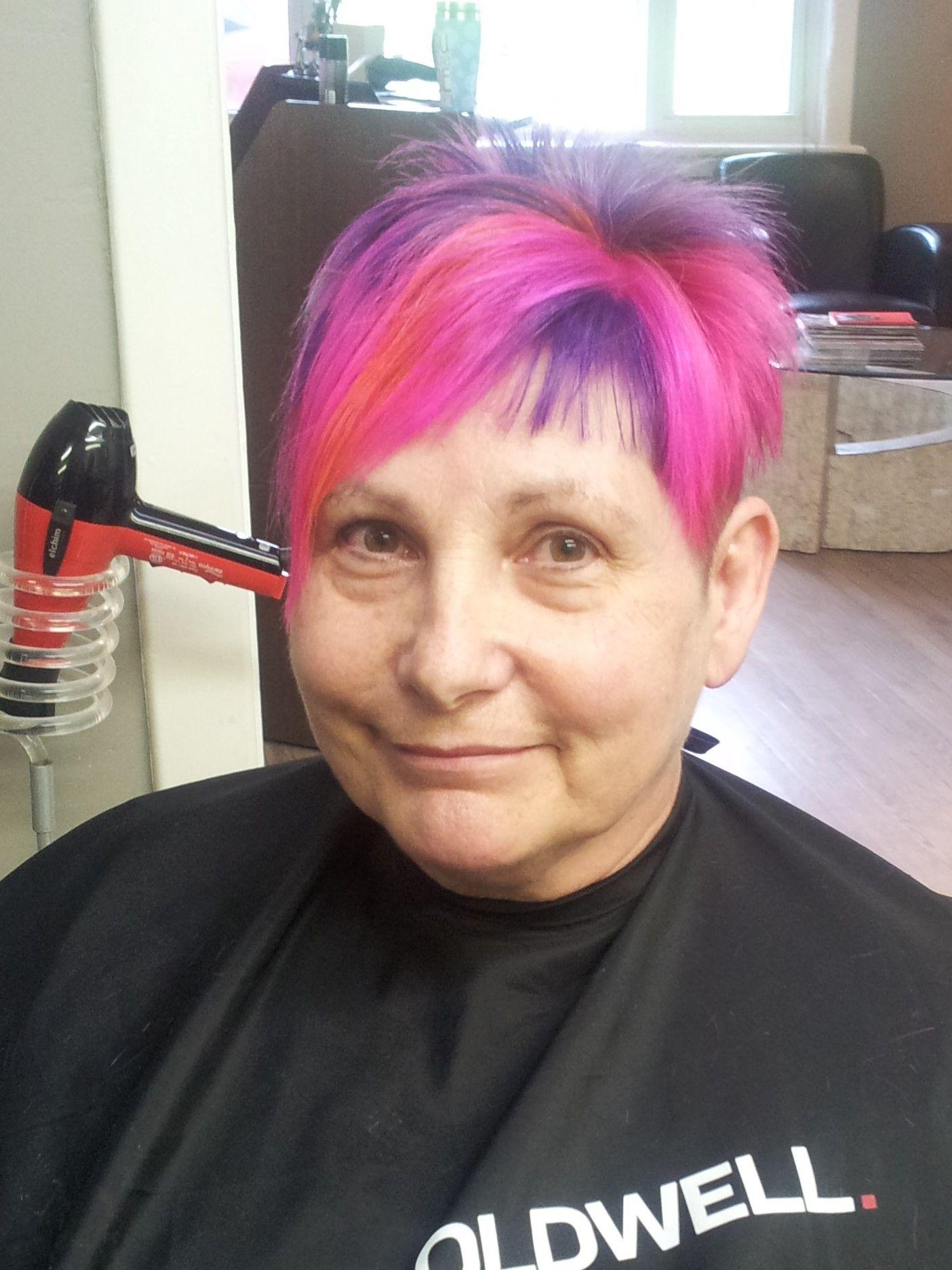 Y new rainbowgalaxy colour fun hair colours pinterest galaxy