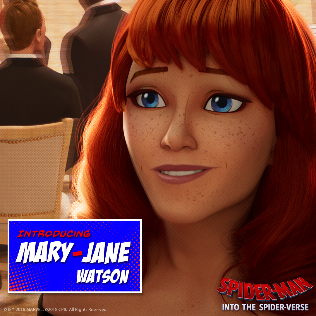 Meet Mary Jane  #ZoeKravitz voices Mary Jane in #SpiderVerse