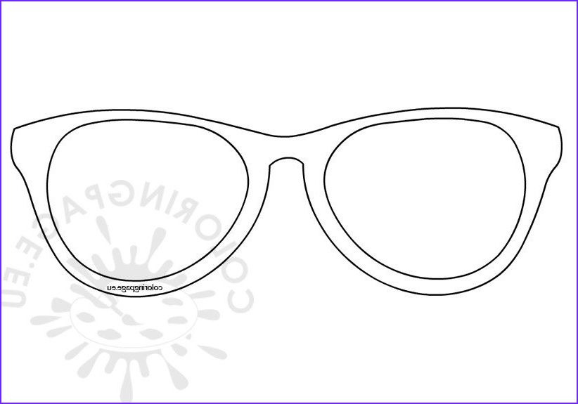 37 Unique Photos Of Sun Glasses Coloring Page In 2020 Coloring Pages Unique Photo Valentines Day Coloring