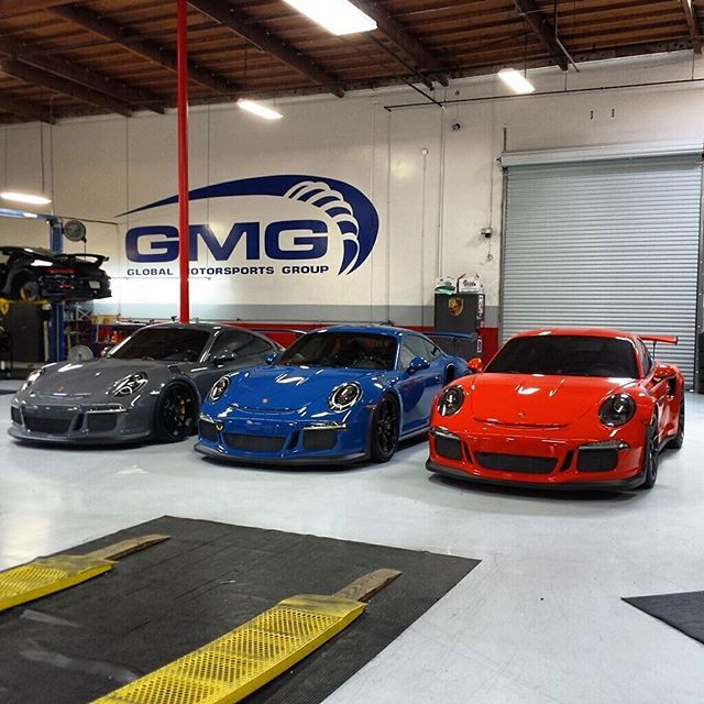 Epic Threesome at GMGRacing also known as GT3rs