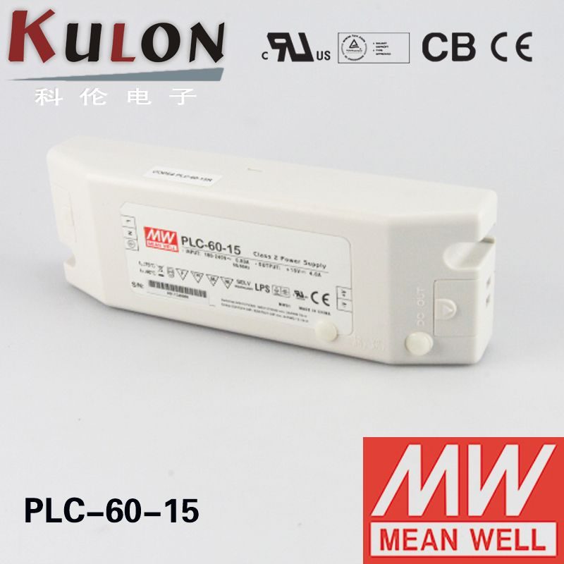 Mean Well Plc 60 15 Power Supply Adjustable Dimmable Led Driver Single Output 60w 15v 4a Affiliate Dimmable Led Electrical Equipment Power Supply