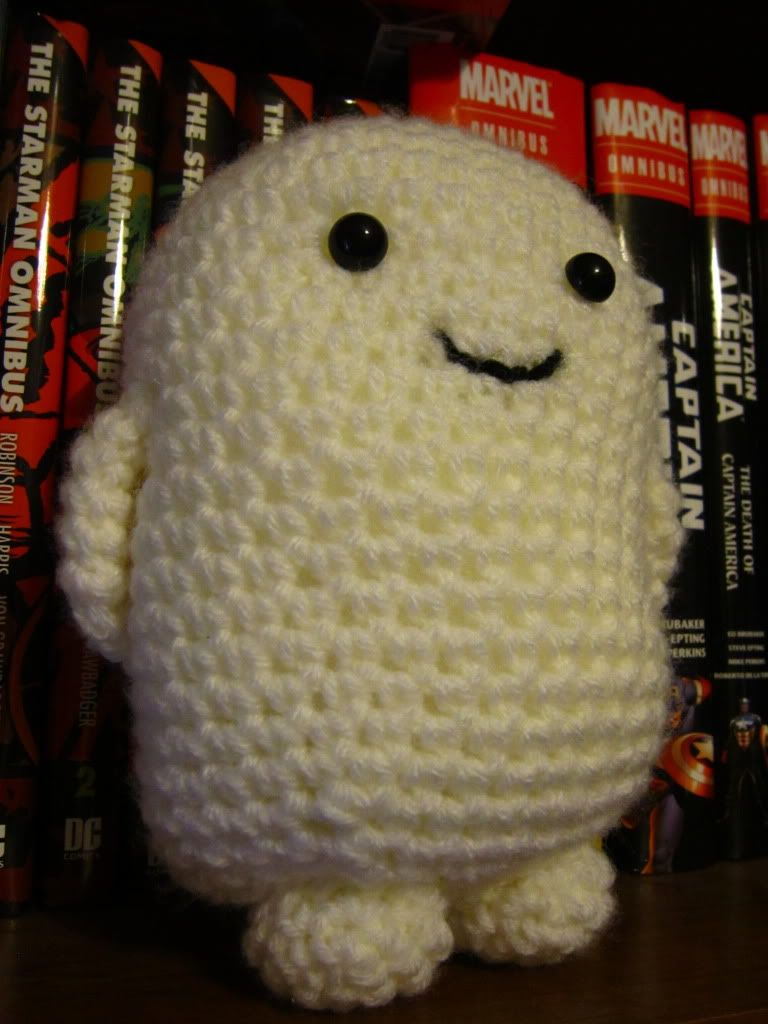 Dr. Who Adipose - CROCHET****** Christine its a critter made from ...
