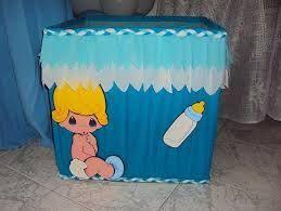 Cajitas Para Bautizo Nino.Cajas Para Regalos De Baby Shower Buscar Con Google