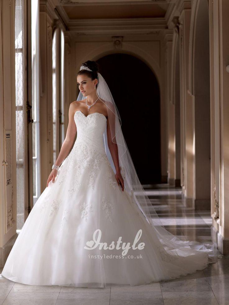 criss crossed wedding dresses