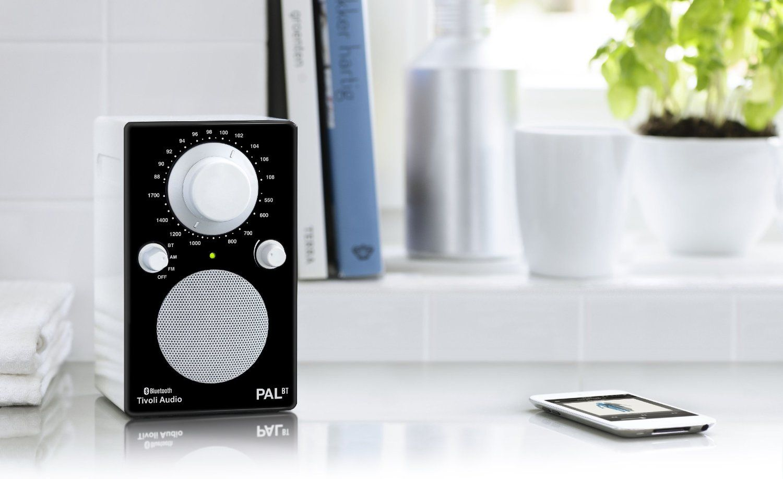 Tivoli Audio PALBTGBLK PAL BT Bluetooth Portable AM/FM Radio (High on speaker audio, coaxial audio, sony audio, headset audio, multimedia audio, cd audio, cable audio, set clock pioneer car audio, dvi audio,