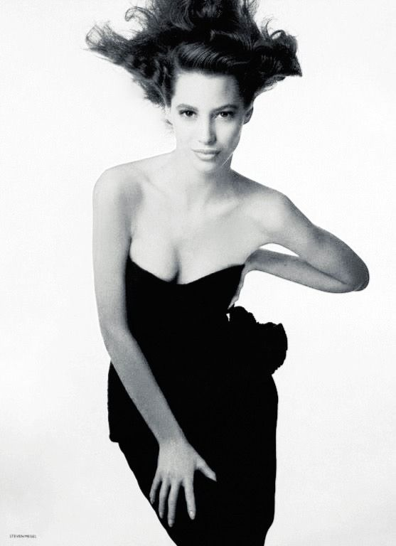 christy turlington  photo by steven meisel  british vogue
