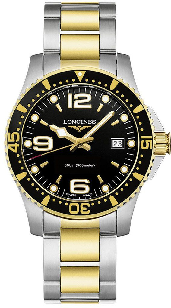 @longineswatches  HydroConquest #add-content #bezel-unidirectional #bracelet-strap-gold #brand-longines #case-material-steel #case-width-41mm #date-yes #delivery-timescale-1-2-weeks #dial-colour-black #gender-mens #l37403567 #luxury #movement-quartz-battery #official-stockist-for-longines-watches #packaging-longines-watch-packaging #style-sports #subcat-hydroconquest #supplier-model-no-l3-740-3-56-7 #warranty-longines-official-2-year-guarantee #water-resistant-300m